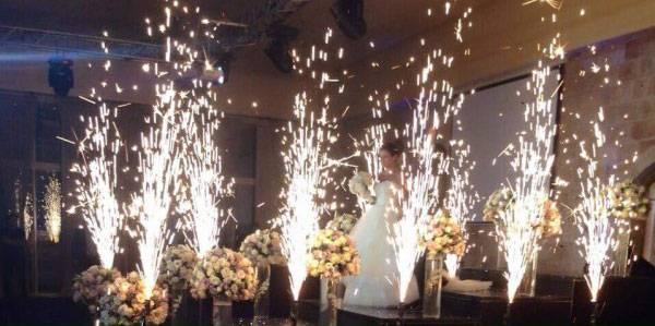 πυροτεχνήματα γάμων κόρινθος